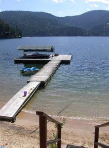 Hayden Lake cabin rental