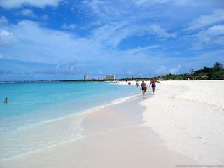 Aruba condo photo - View of Eagle Beach