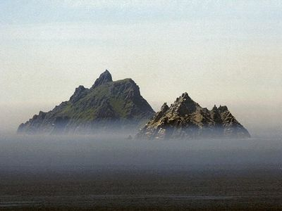 Skellig Rocks - World heritage site