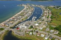 Groton house photo - Aerial View of Main Beach and Venetian Harbor