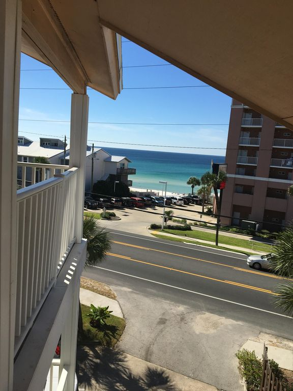 New Listing! Great location across street from beach; near Pier Park, shopping
