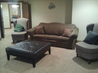Theater room- Pull out Sofa Bed