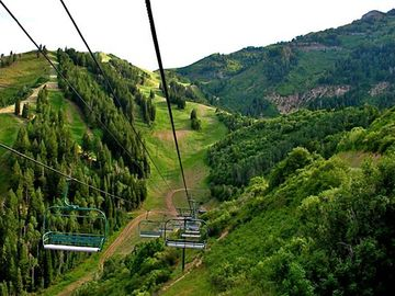 Enjoy scenic lift rides and hiking throughout the