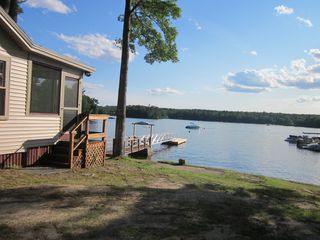 Sebago Lake Basin cabin photo - 50'+ ramp