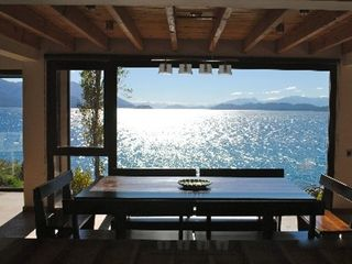 Bariloche house photo - Who needs to go out to eat with a view like this?