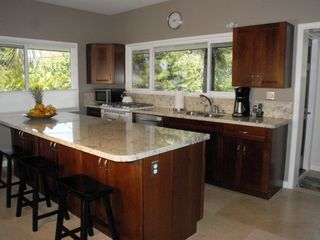 Sunset Beach house photo - Kitchen with gas stove