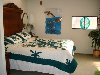 OCEAN VIEW MASTER BEDROOM & KING BED