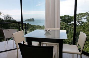 Your Breakfast Nook and balcony overlooking the Pacific