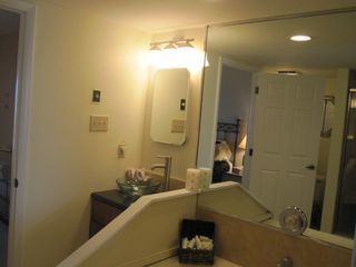 Master Bath with Jacuzzi and Shower - Brigantine condo vacation rental photo
