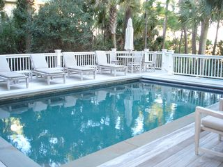 Kiawah Island house photo - Pool with Marsh View