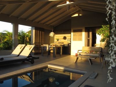 The Lizard, two small new villas 70m² charming contemporary