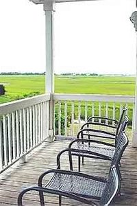 Imagine yourself on one of the TWO Charleston porches--incredible sunsets.