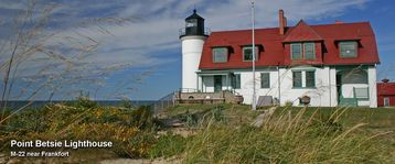 Point Betsie Lighthouse near Frankfort
