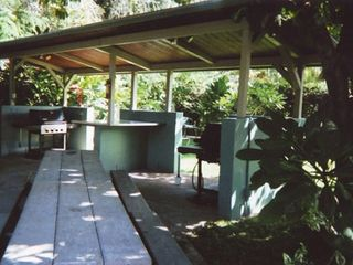 Napili studio photo - Large gas BBQ area w/ 2 BBQ's plenty of tables and shade