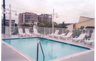 Vacation Homes in Ocean City condo photo - Pool in back of building, Seaside Escape, Ocean City, MD
