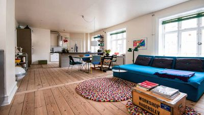 Colourful & kid-friendly flat in the vibrant neighborhood of Nørrebro