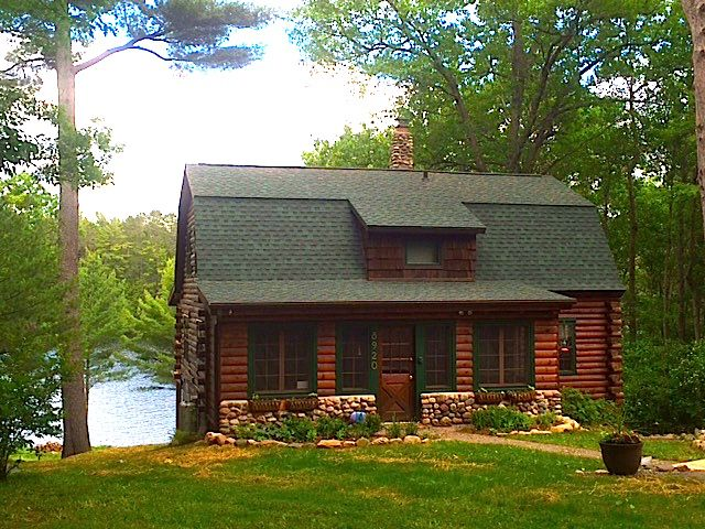 Charming Minocqua Area Log Home Sleeps 6 Vrbo