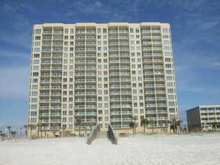 Pensacola Beach condo photo - Ocean front building, steps away from clear emerald water