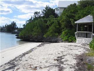 Marsh Harbour house photo - Private beach access with gazebo