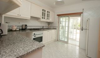 Estoril apartment photo - Spacious kitchen! (nice place to prepare your barbecue!)