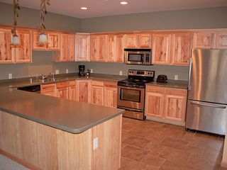 Castle Rock Lake condo photo - Huge kitchen with everything you need to cook and enjoy your stay.