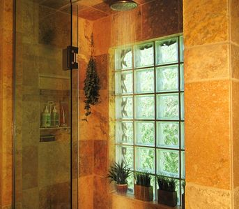 Relax in the Steam/ Sauna Shower