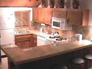 Escape For All Seasons townhome rental - Granite Kitchen with all new cookware & utensils.........