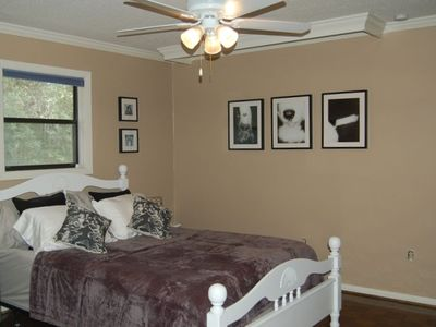 one of the 3 guest bedrooms