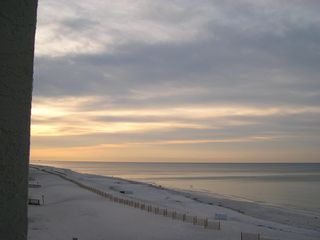 Gulf Shores condo photo - Sunrise from the balcony
