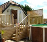 Lovely, modern apartment with swimming pool, Sea views, Seaton Beer nr Sidmouth
