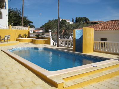 El Campello villa rental - More Pool Pics