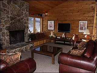 Snowmass Village house photo - Great Room with Fireplace