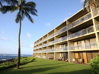 Poipu condo photo - We are on the 2nd floor, 4th from the right