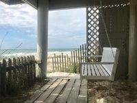 Beachfront Family Friendly Townhome In Quiet Inlet Beach