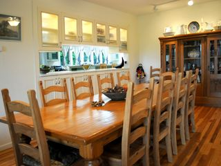 Tannersville farmhouse photo - Dining room. Actually and comfortably seats 12!