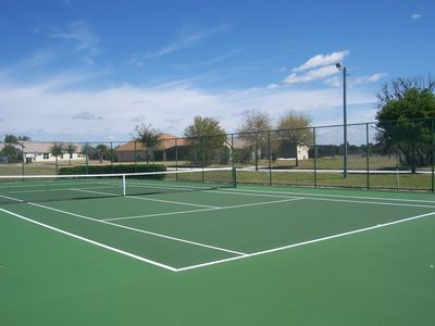 Orange Tree villa rental - Tennis court