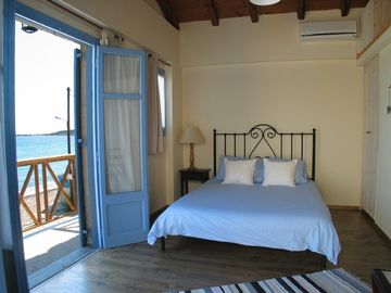 Lesbos house rental - Beach house no2, main bedroom