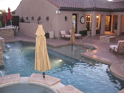 Beautiful Designer Atrium 40 Foot Pool with 10 Person SPA
