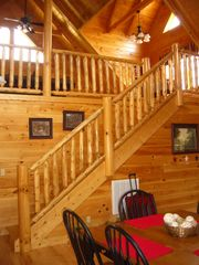 Pigeon Forge cabin photo - Lofted Game Room