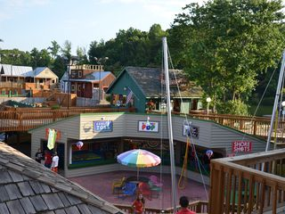 Moneta house photo - Bernard's Landing. Family Fun Center. Bungee jumping, miniature golf, etc.