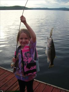 Let your kids catch a bass