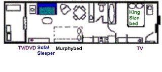Blue Water Resort condo photo - Floorplan