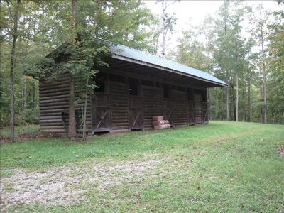 4 Horse Stall Barn and Tack Room