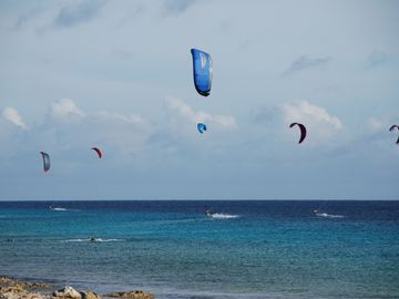 Kitesurfing - A short drive down the road
