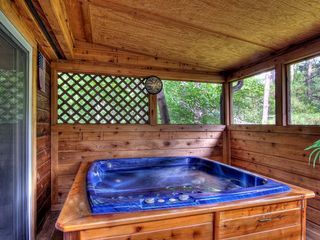 Pigeon Forge cabin photo - Enjoy an evening in this 4 person Hot Tub