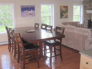 Wilmington house photo - Dining area - table sits 10 comfortably