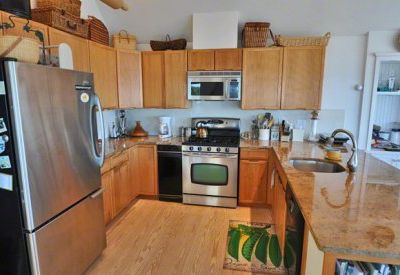 Oak Bluffs house rental - Stylish Gourmet Kitchen Is Outfitted With Stainless Steel Appliances And Granite Countertops