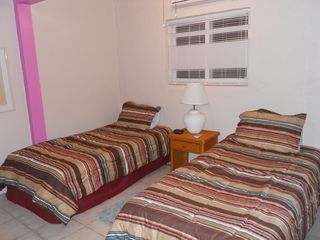 St. Croix condo photo - Loft Bedroom with 2 twin Beds & new Bedding October 2012