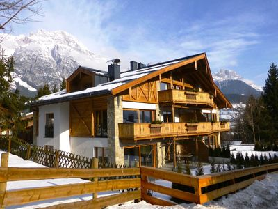 luxury penthouse with interior design with ski-in and ski-out option