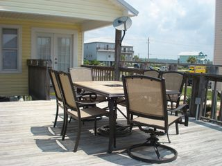 Gulf Shores house photo - Enjoy the 6 seater patio set for Dinner